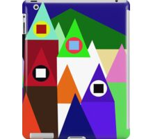 Colorful houses iPad Case/Skin
