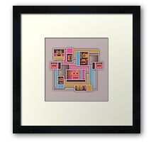System Combers Framed Print