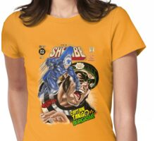 SheVibe Presents We-Vibe Cover Art - Captain Tango! Womens Fitted T-Shirt