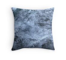 Clouds Over Turks and Caicos Islands Satellite Image Throw Pillow