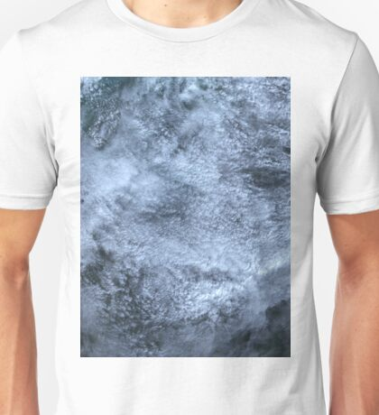 Clouds Over Turks and Caicos Islands Satellite Image Unisex T-Shirt