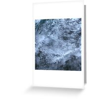 Clouds Over Turks and Caicos Islands Satellite Image Greeting Card