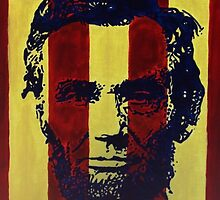 """Abraham """"Abe"""" Lincoln by leahcarbecker"""
