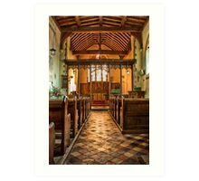 All Saints Burmarsh Art Print