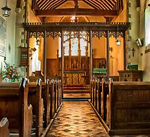 All Saints Burmarsh by Dave Godden