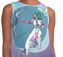 Moon Priestess with Background Contrast Tank