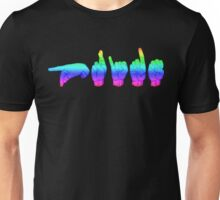 American Sign Language - Pride Unisex T-Shirt