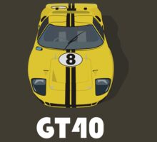Ford GT40 by beukenoot666