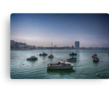 Margate From The Harbour Arm Canvas Print