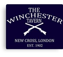 The Winchester Tavern - Shawn Of The Dead Canvas Print