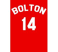 High School Musical: Bolton Jersey Photographic Print
