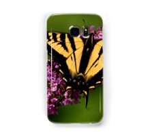 TIGER SWALLOWTAIL BUTTERFLY. Samsung Galaxy Case/Skin