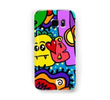 Funny Monsters Samsung Galaxy Case/Skin