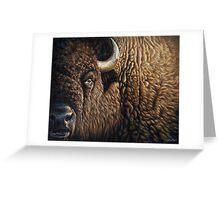 Tatanka - American Buffalo Greeting Card