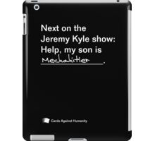 Help, my son is Mechahitler iPad Case/Skin