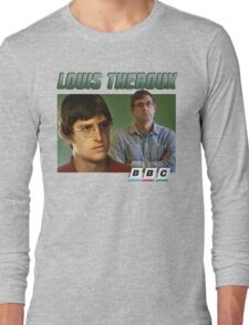 Louis Theroux 90s Green Long Sleeve T-Shirt