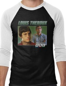 Louis Theroux 90s Green Men's Baseball ¾ T-Shirt