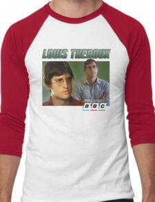 Louis Theroux 90s Green Men's Baseball ¾ T-Shirt