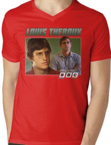 Louis Theroux 90s Green Mens V-Neck T-Shirt