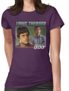 Louis Theroux 90s Green Womens Fitted T-Shirt