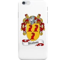 Nicolson (MacNicol) iPhone Case/Skin