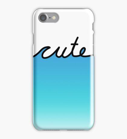 cute waves iPhone Case/Skin