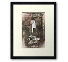 Borley Haunted Mansion [Lakeside Amusement Park]  Framed Print