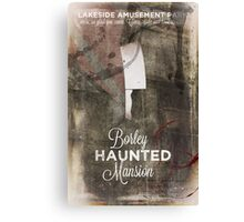 Borley Haunted Mansion [Lakeside Amusement Park]  Canvas Print