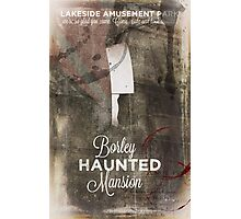 Borley Haunted Mansion [Lakeside Amusement Park]  Photographic Print