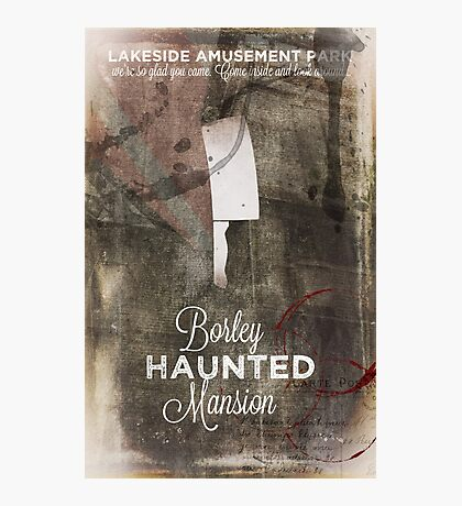 Borley Haunted Mansion [Lakeside Amusement Park]  Photographic Print