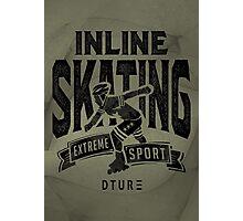 Inline Skating Photographic Print