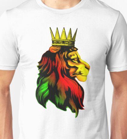 Rasta Lion. Unisex T-Shirt