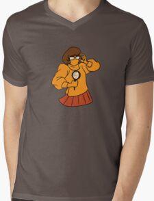 Velma Mens V-Neck T-Shirt