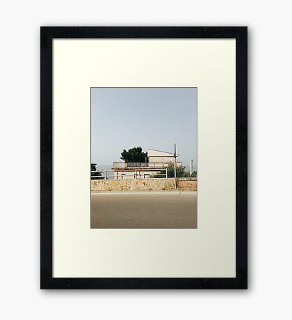 Sicilian Architecture Framed Print