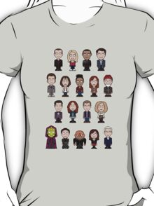 New Who Doctors and Companions (shirt) T-Shirt
