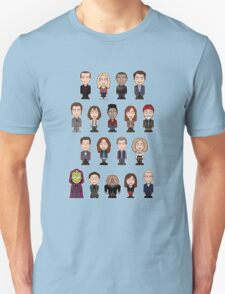 New Who Doctors and Companions (shirt) Unisex T-Shirt