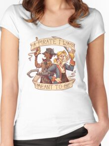 A Pirate I Was Meant To Be Women's Fitted Scoop T-Shirt