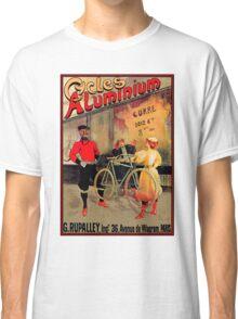 ALUMINIUM CYCLES; Vintage Bicycle Advertising Print Classic T-Shirt