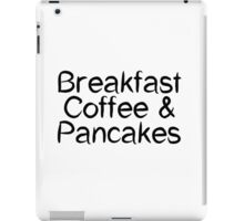 Breakfast Coffee & Pancakes iPad Case/Skin