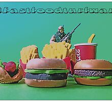 #FastFoodTurfWar by Tim Constable by Tim Constable