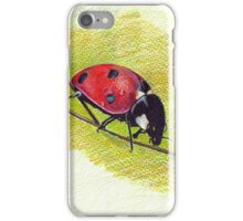 Ladybug - Realistic Art Drawing iPhone Case/Skin