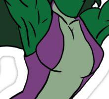 She Hulk Sticker