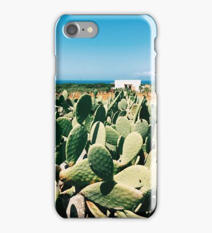 Sicilian Cacti iPhone Case/Skin