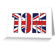Tom (UK) Greeting Card