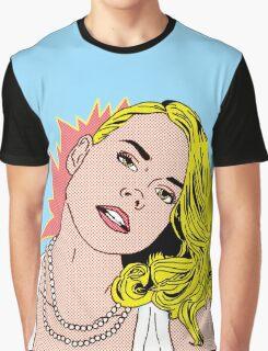 Billie Piper POP art Graphic T-Shirt