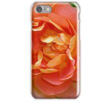 Orange coloured rose iPhone Case/Skin