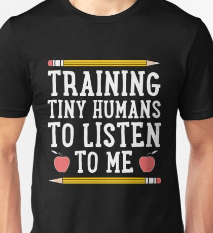Training Tiny Humans Unisex T-Shirt