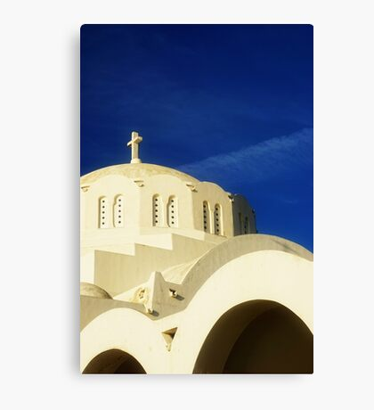 Greek Church Canvas Print