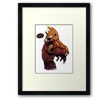 A Groot Friend Is Hard To Find Framed Print
