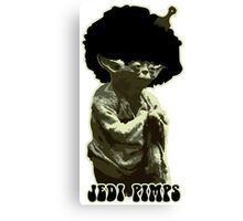 Yoda Jedi Pimps Canvas Print